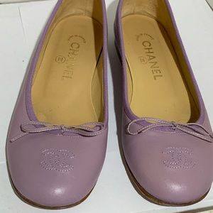 Chanel ballet flats Size 7